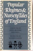 Popular Rhymes & Nursery Tales Of England