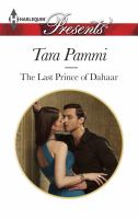 The Last Prince of Dahaar