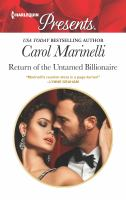 Return of the Untamed Billionaire