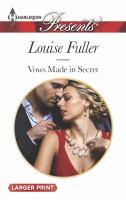 Vows Made in Secret
