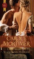 Lady Arabella's Scandalous Marriage