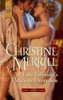 Lady Folbroke's Delicious Deception