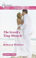 The Greek's Tiny Miracle