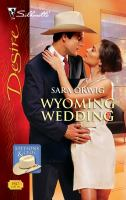 Wyoming Wedding