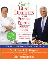 Eat and Beat Diabetes With Picture Perfect Weight Loss