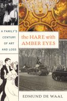 The Hare with Amber Eyes book cover