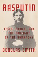Cover of Rasputin: Faith, Power, an