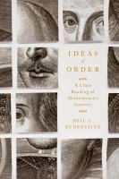 Ideas of Order