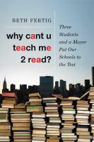 Why Cant U Teach Me 2 Read?