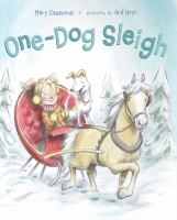 One-dog Sleigh