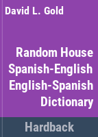 Random House Spanish-English, English-Spanish Dictionary