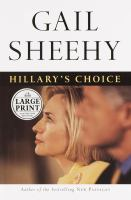 Hillary's Choice