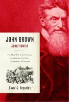 John Brown, Abolitionist
