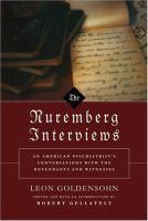 The Nuremberg Interviews