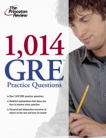 1014 GRE Practice Questions