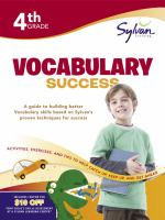 4th Grade Vocabulary Puzzles