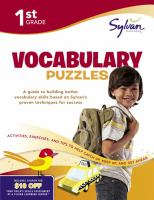 1st Grade Vocabulary Puzzles