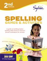2nd Grade Spelling Games & Activities