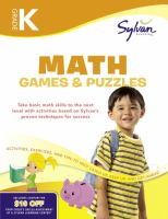 Kindergarten Math Games & Puzzles