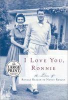 I Love You, Ronnie