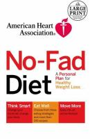 No-fad Diet