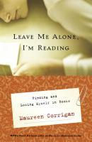 Leave Me Alone, I'm Reading