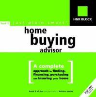 H & R Block Just Plain Smart Home Buying Advisor