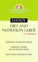 Random House Webster's Handy Diet and Nutrition Guide