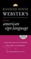Random House Webster's Pocket American Sign Language