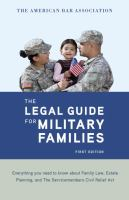 The Legal Guide for Military Families