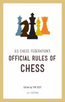 U.S. Chess Federation's Official Rules of Chess