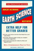 The Princeton Review High School Earth Science Review