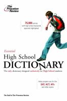 The Essential High School Dictionary