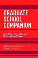 Graduate School Companion