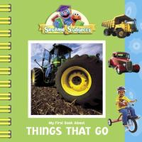 My First Book About Things That Go