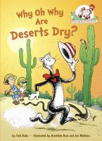 Why Oh Why Are Deserts Dry?