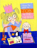 How to Get A Job-- by Me, the Boss