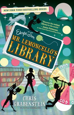 Escape from Mr. Lemoncello's Library book jacket
