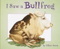 I Saw A Bullfrog