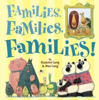 Families Families Families Book Cover