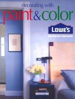 Lowe's Decorating With Paint & Color