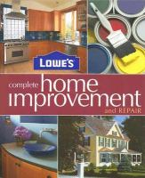 Lowe's Complete Home Improvement & Repair