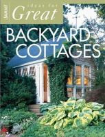 Sunset Ideas for Great Backyard Cottages