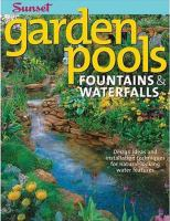 Garden Pools, Fountains & Waterfalls