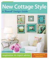 New Cottage style book cover