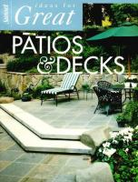 Sunset Ideas for Great Patios and Decks