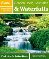 Our newest book on fountains and water features.