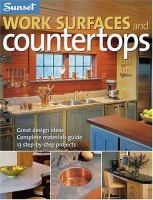 Work Surfaces and Countertops