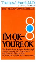 I'm OK -- You're OK