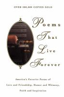 Poems That Live Forever